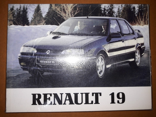 Manual Usuario Renault 19 16s 16v