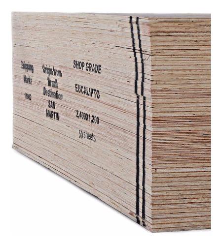Placa Fenolico Shopgrade 18mm 1,22 X2,44 Scrap Maderwil
