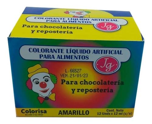 Caja Colorantes Para Alimento Reposteria