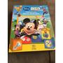 Livro História Com Blocos De Montar A Casa Do Mickey Mouse