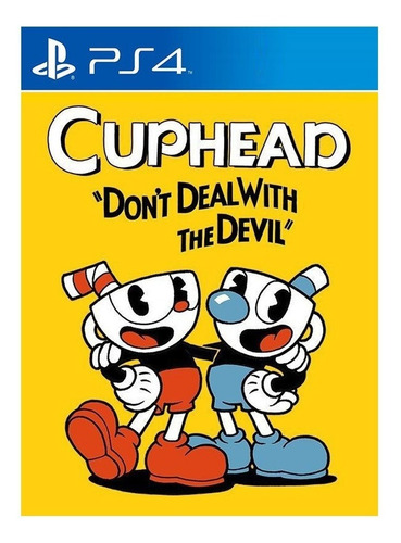 Cuphead Ps4 Garou Games