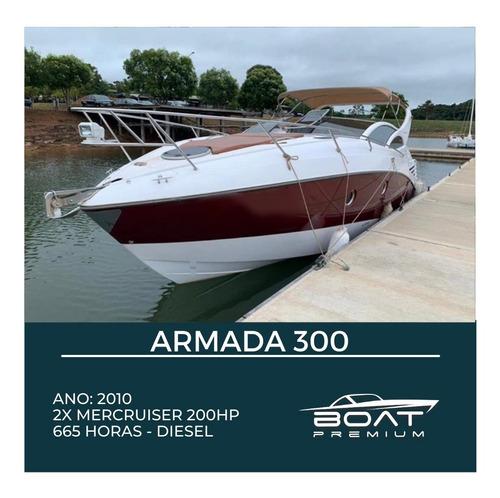 Armada 300, 2010, 2x Mercruiser 200hp -  Focker - Colunna