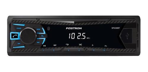 Som Automotivo Pósitron Sp2230bt Com Usb E Bluetooth