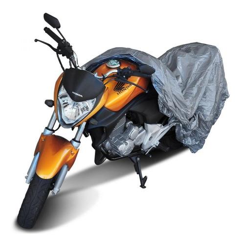 Capa Cobrir Moto Cb Twister Forrada Impermeável Anti Uv M