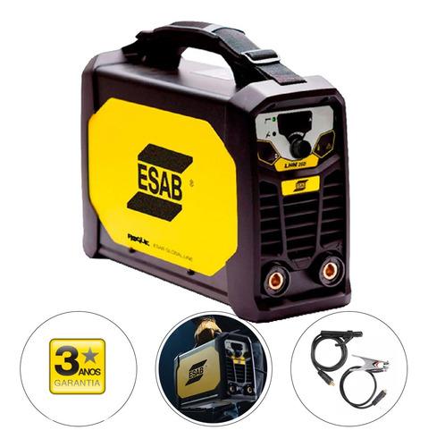Máquina Inversora De Solda 200a 10kva - Lhn 202i Esab