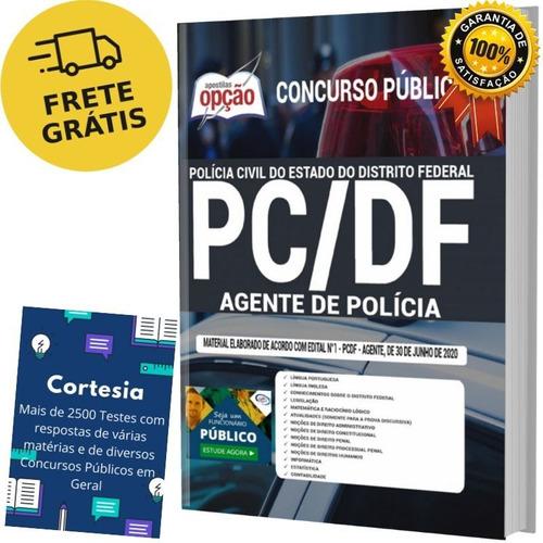Apostila Concurso Agente De Polícia Pc Df Distrito Federal