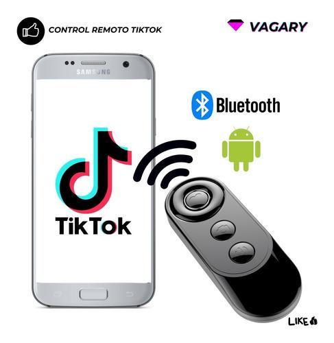 Mini Control Remoto Tik Tok Bluetooth Android Samsung Huawei