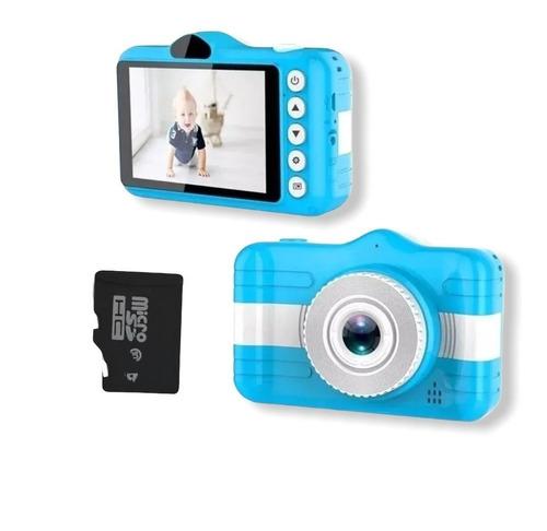 Câmera Fotográfica Infantil Foto E Video Sd + C Memória 32gb
