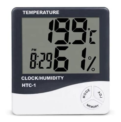 Reloj Temperatura Humedad Digital Sonda Termohigrometro Htc2