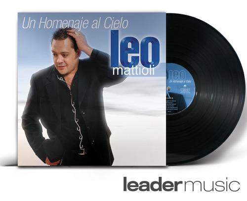 Lp Leo Mattioli - Un Homenaje Al Cielo - Vinilo