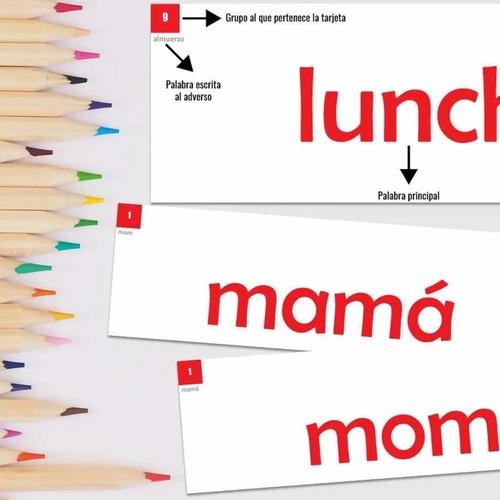 Metodo Doman Fases 1, 2, 3 Y 5 Mazos De Flash Cards