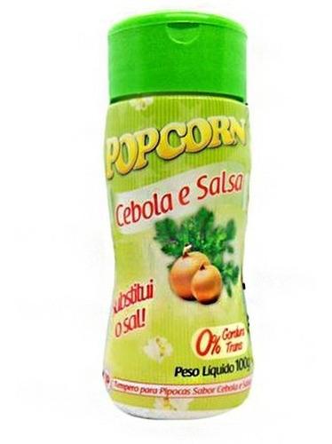 Tempero Para Pipoca Popcorn Cebola E Salsa 100g