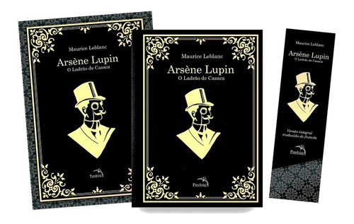 Livro Arsène Lupin: O Ladrão De Casaca Com Poster E Marcador