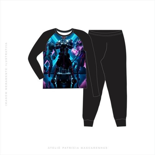 Pijama Longo Fortnite Infantil
