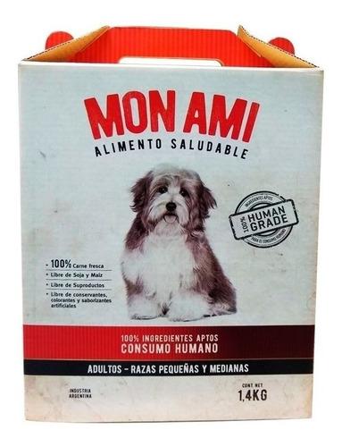 Alimento Mon Ami Para Perro Adulto De Raza Pequeña/mediana Sabor Mix En Bolsa De 1.4kg