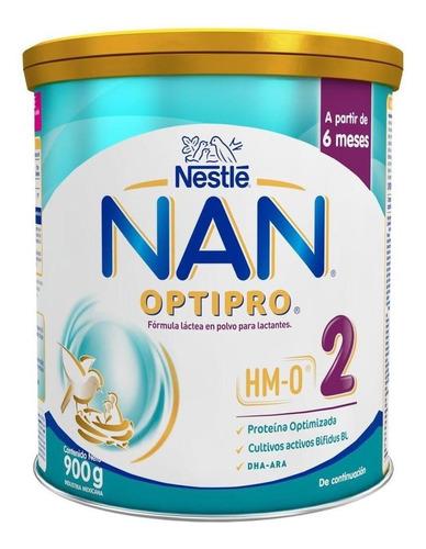 Leche De Fórmula En Polvo Nestlé Nan Optipro 2 En Lata  900g