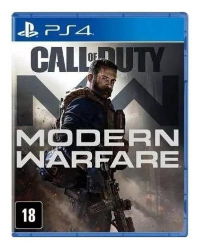 Call Of Duty: Modern Warfare Standard Edition Activision Ps4 Físico