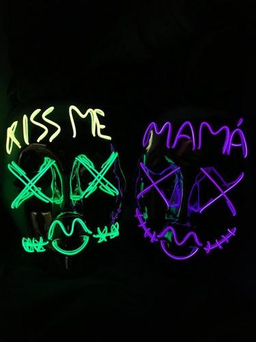 Máscaras Iluminadas Para Tus Fiestas De Halloween