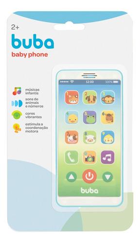 Baby iPhone Celular Bebê Educativo Com Sons Buba