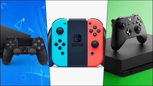 Reparacion Consolas/fuentes/joystick Xbox, Ps4, Switch.turno