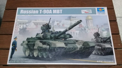 Trumpeter 1:35 Russian T-90a Mbt