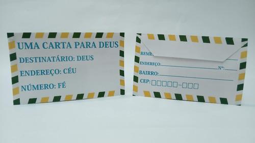 Cento De Envelope Personalizado Para Campanha Evangélica
