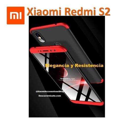 Estuche Full Protección 360 Para Xiaomi Redmi S2