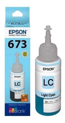 Tinta Epson T673 Original Cian 70ml