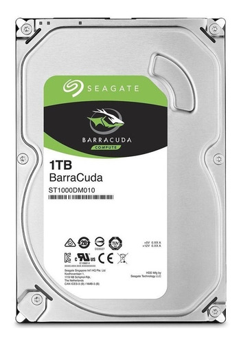 Disco Duro Interno Seagate Barracuda St1000dm010 1tb