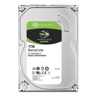 Disco duro interno Seagate BarraCuda 3.5 ST1000DM010 1TB