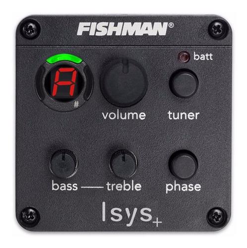 Preamplificador Fishman Isys Plus 301 Mic Guitarra