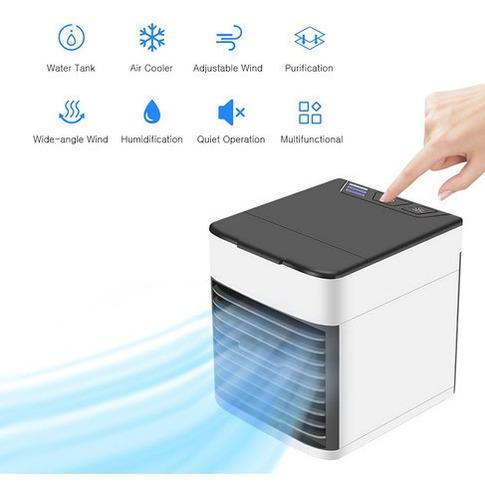 Mini Ventilador De Ar Condicionado Usb Cooler Pequeno Cir
