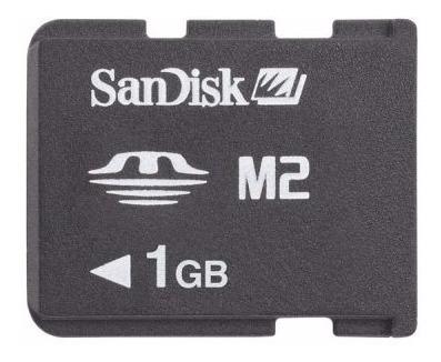 Cartão Memory Stick Micro M2 1gb