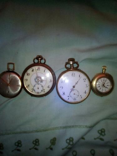 Hermosos Relojes De Bolsillos Dama Y Hombre