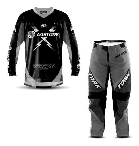 Conjunto Calça Camisa Feminina Trilha Motocross Ad Store Nf