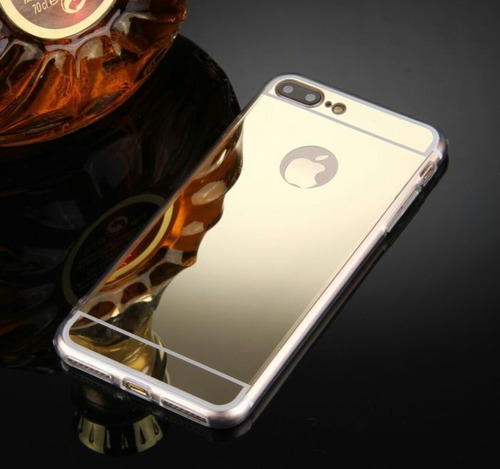 Funda Espejada Para Iphone7/7plus.en Color Dorado O Plateado