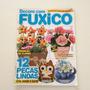 Revista Decore Com Fuxico 12 Peças Vasinho Arranjo Bc128