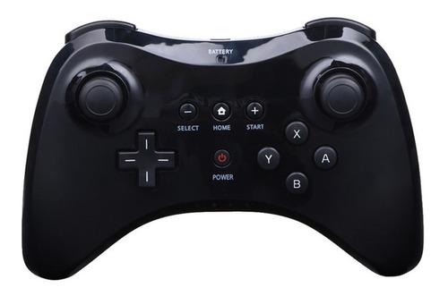 Controle Bluetooth Gamepad Nintendo Para Wii U Preto