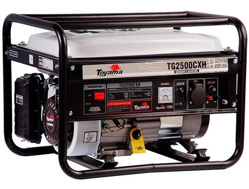 Gerador De Energia À Gasolina 2,0 Kva Tg2500cxh Toyama