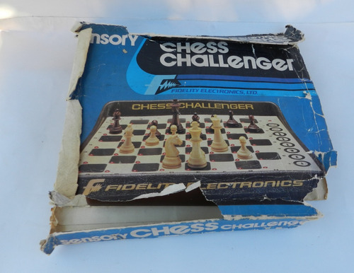 Retro Chess Challenger Ajedrez Electronico Funcionando Aps