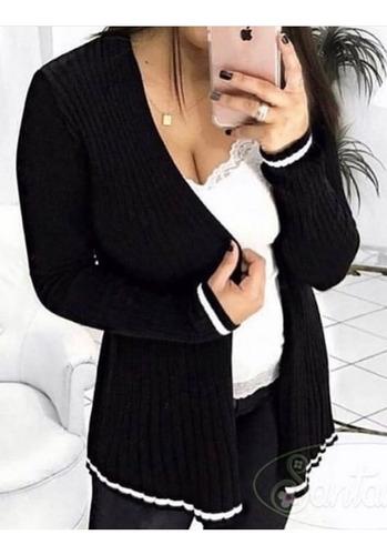 Kimono Cardigan Trico Blusas Femininas Roupas Femininas