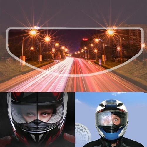 Calcomanía Antiempañante Para Visor De Casco De Moto