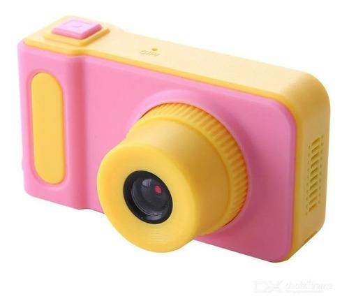 Câmera Fotográfica Digital Infantil Para Criança Kids Foto