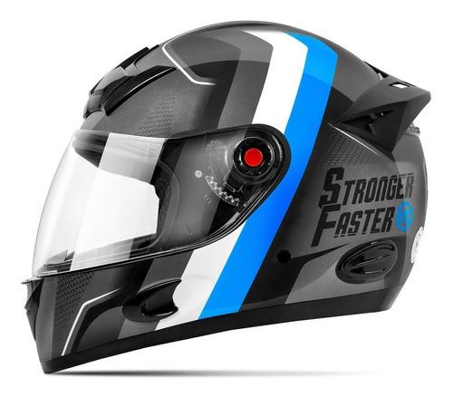 Capacete De Moto Fechado Etceter Stronger Faster