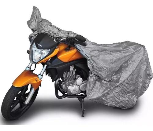 Capa Cobrir Motos 100% Impermeável Anti Uv Anti Risk