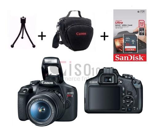 Câmera Canon T7 +18-55 Is 2 C/ Nf-e +sandisk32g Garant Canon