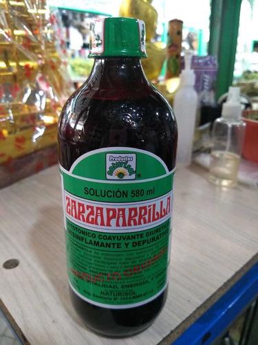 Zarzaparrilla Jarabe 580ml Import - Unidad a $18000
