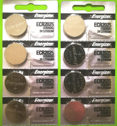 Batería Energizer Ecr2025 3v Lithium -genuina- 2 Pzas