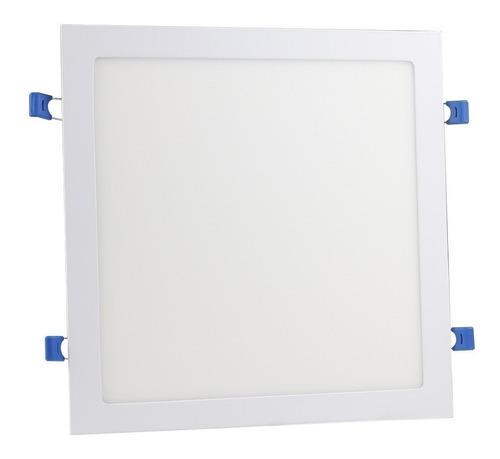 Plafon 25w 24w Painel Super Led Quadrado Embutir Com Reator Luz Branco Frio Luminária Bivolt Lampada Led