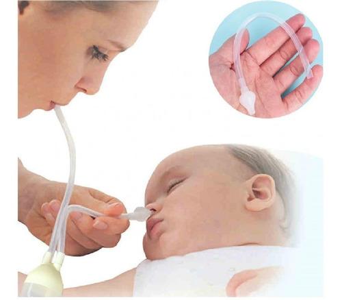 Aspirador Nasal Bebe Infantil Sugador Catarro Secreção Nariz